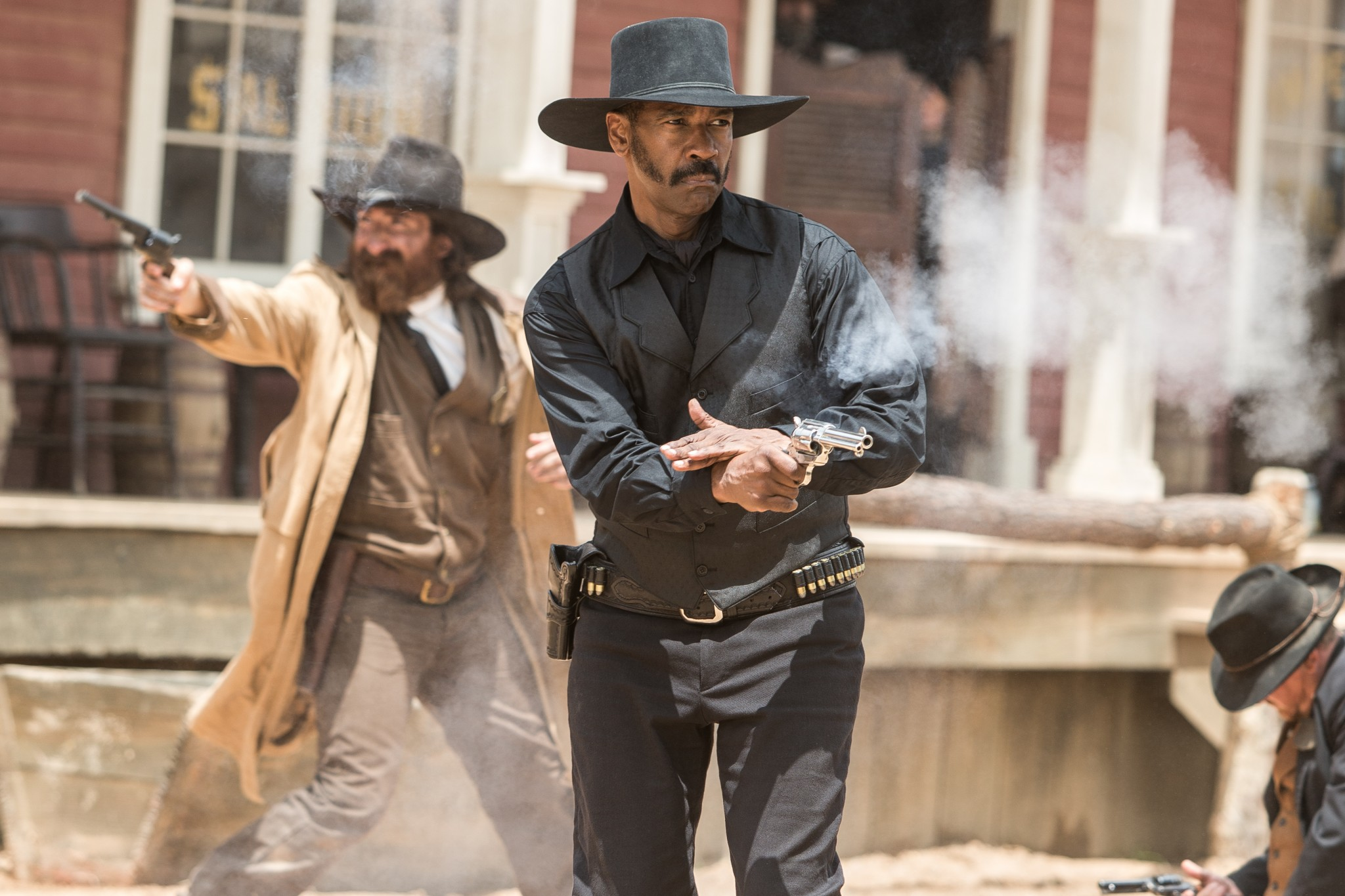 "Denzel Washington in ""The Magnificent Seven"""