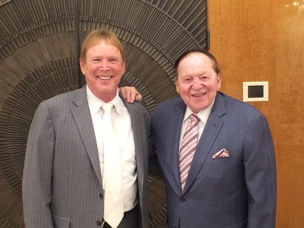 Mark Davis and Sheldon Adelson
