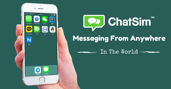 """ChatSim Says It Solves """"The Roaming Mess In Europe"""" - But What's ChatSim"""