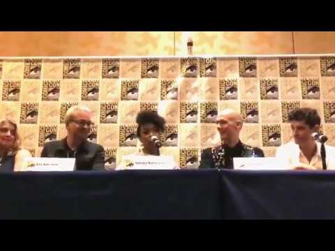 Star Trek: Discovery's Sonequa Martin Green Emotional When Asked About Star Trek's Nichelle Nichols – Vlog