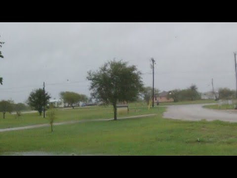 Barry Lee Live As Hurricane Harvey Drops To Tropical Storm!