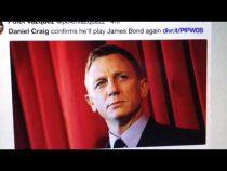 Daniel Craig Returns As James Bond, Twitter Reactions – Vlog