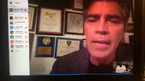 Esai Morales Blasts Lies About SAG AFTRA Meeting Attenance #SAGAFTRA