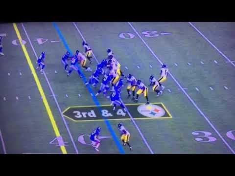 NY Giants Zone Blitz Confused Steelers QB Josh Dobbs In NFL Preseason Game