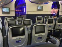 United Airlines BRAND NEW B777 300ER Walkthrough