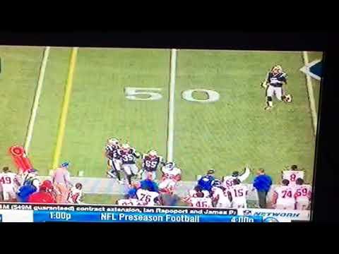 Cal's Davis Webb Leads 4th Quarter Game Winning Drive NY Giants 40 NE Patriots 38