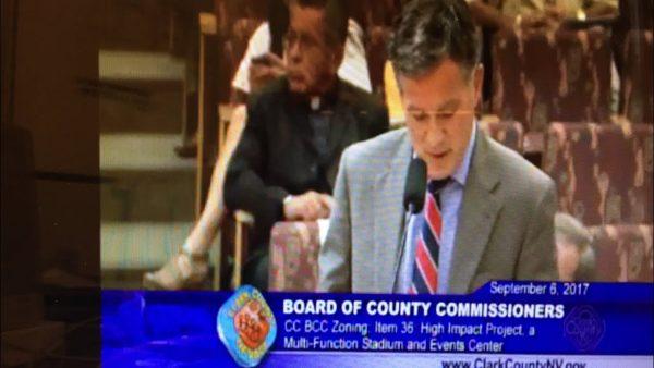 Clark County Zoning Board Meeting On Oakland Raiders Las Vegas NFL Stadium
