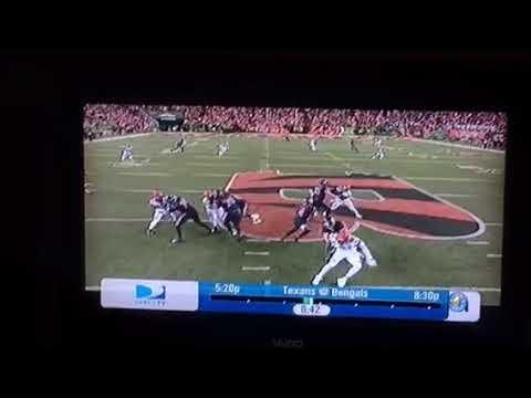 Deshaun Watson 49 Yard TD Run For Houston Texans Vs Cincinnati Bengals